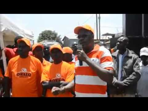 REMARKS AT HARAMBEE FOR OLYMPIC SMALL TRADERS ASSOCIATION, Saturday 26th March 2016