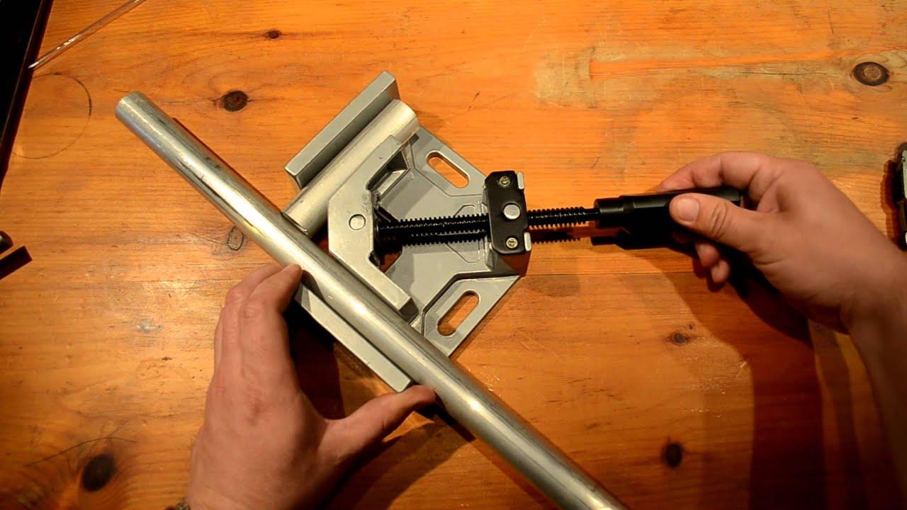 hobart 770565 90 degree welding clamp youtube