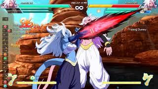 Android 21, Gotenks, Base Goku Spirit Bomb Link