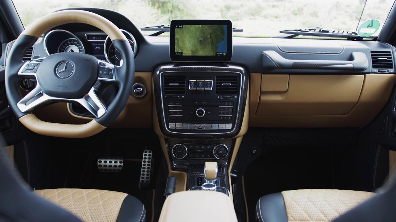 mercedes-maybach g 650 landaulet interior design   automototv - youtube