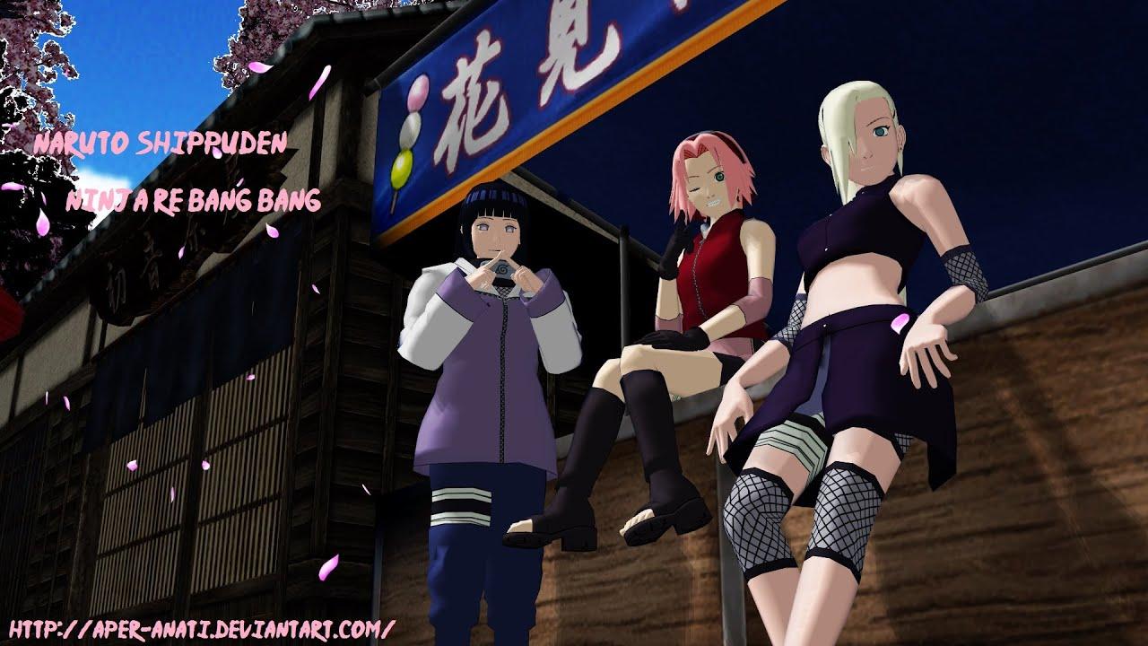 Ninja Girl Wallpapers Hd Mmd Camera Dl Naruto Shippuden Ninja Re Bang Bang