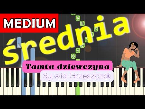 🎹 Tamta dziewczyna (Sylwia Grzeszczak) - Piano Tutorial (średnia wersja) 🎹