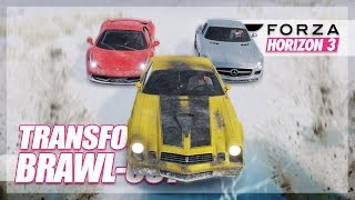Forza Horizon 3 - Transformers Snow/Ice Brawl-Out! (Autobots vs. Decepticons)