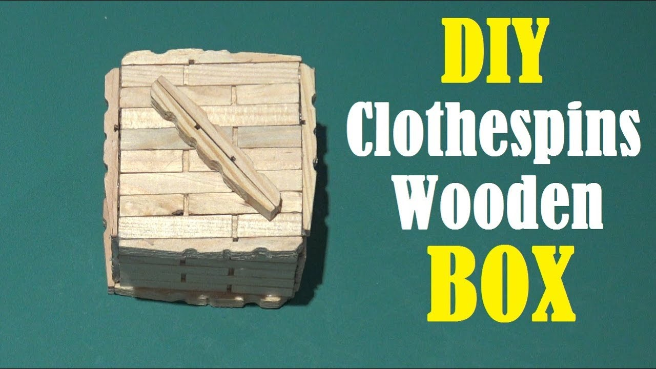 how to make an easy box wood