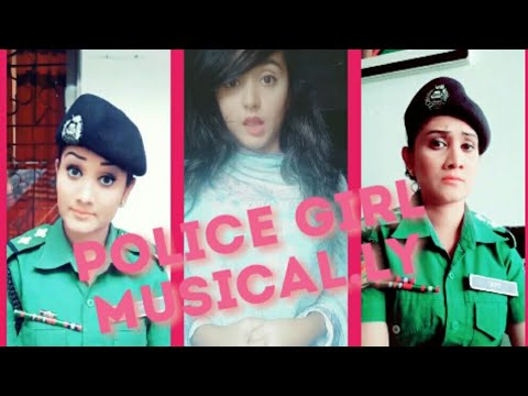 Cute BD Police Girl Musical.ly | Team BD Best Police Girl Musical.ly