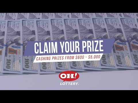 Cashing Ohio Lottery Prizes Between $600 And $5,000