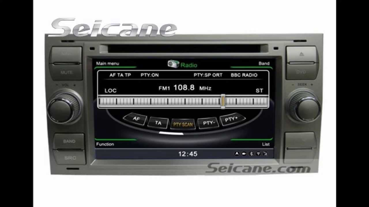 All In One 2004 2008 Ford Focus 3g Radio Dvd Navigation System With Tv Usb Aux Wma Cd You