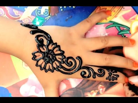 ᴴᴰ Simple Henna For Kids Youtube