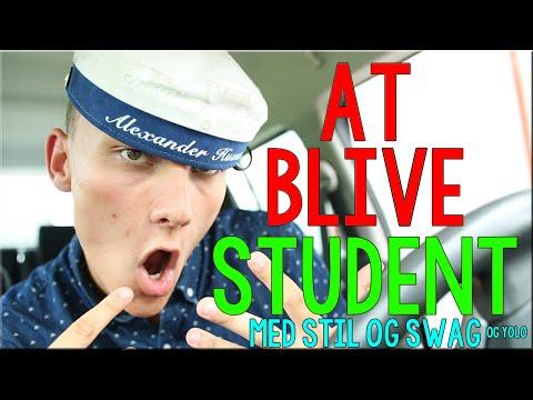 SÅDAN ER DET AT BLIVE STUDENT
