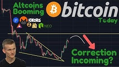 Bitcoin FLYING, But Is A Correction Coming?   Bitcoin Losing Dominance To Alts