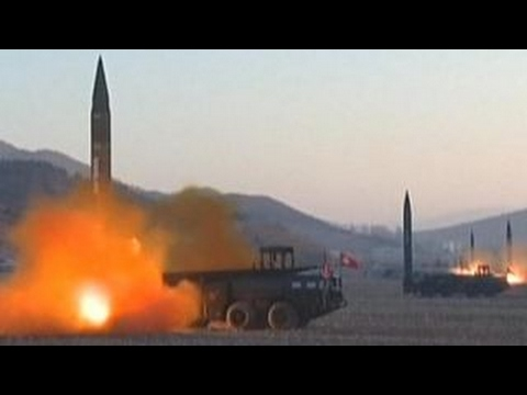 North Korea's rocket engine test raises tensions