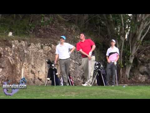 Juniors Golf Newstead Belmont Hills Golf Course Bermuda Feb 26th 2011