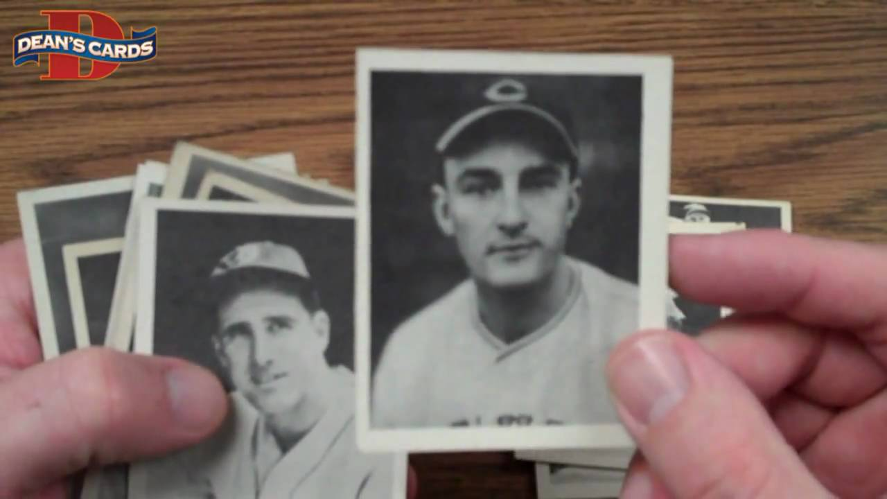 Deans Cards 1939 Play Ball Set Break