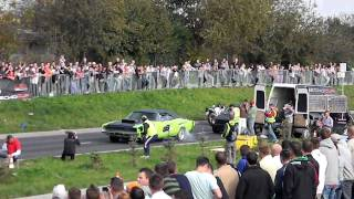 Geko 1/4 mili Dodge Charger vs. Subaru Impreza Wrx Lublin 2010.IX.26.