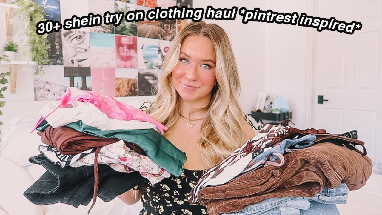Download huge shein try on clothing haul! 25+ items ( trendy & cute)