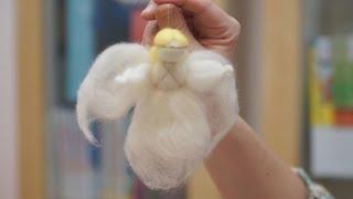 видео Поделки на Рождество: ангелы