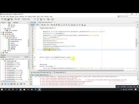 Simple Rapid Roll Game In Java (part-1)   Simple Java Game