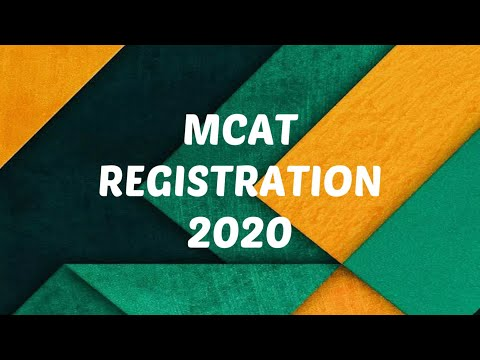 Repeat MCAT 2019 ONLINE REGISTRATION STEP BY STEP PROCESS by