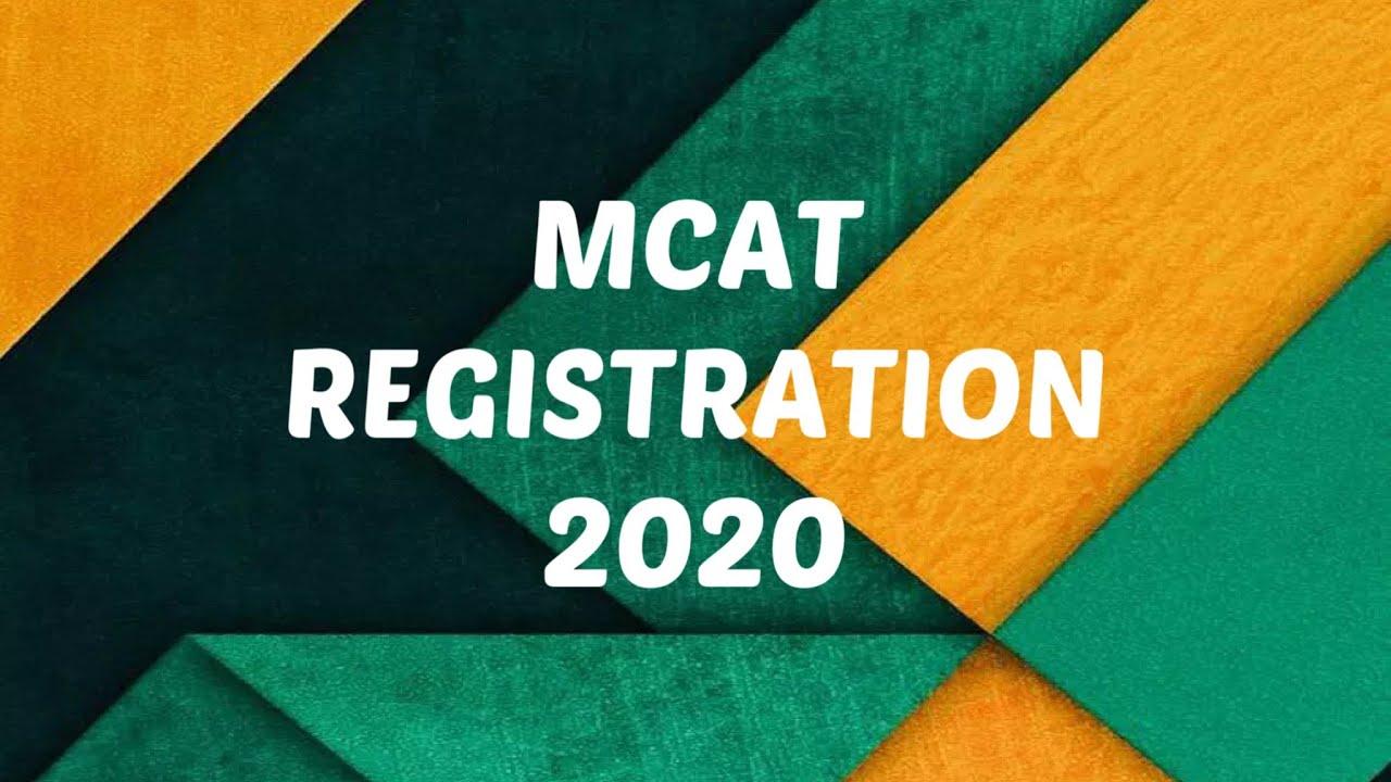 MCAT 2019 ONLINE REGISTRATION STEP BY STEP PROCESS