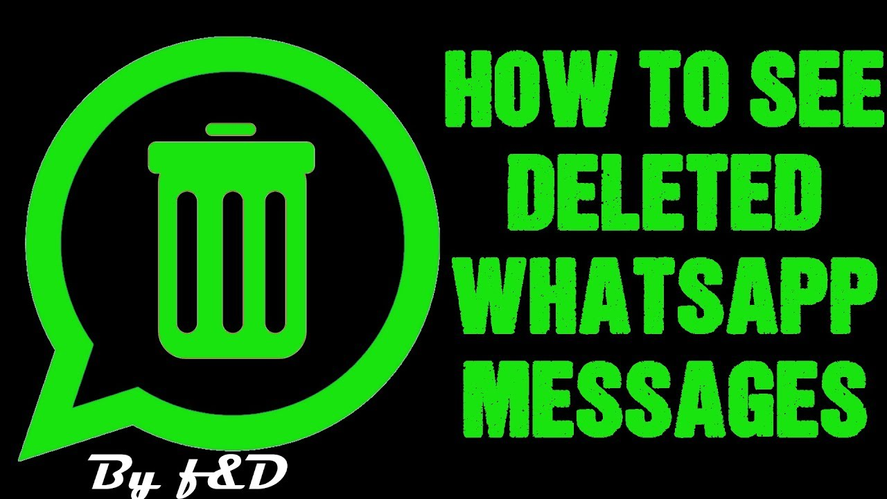 app to see deleted whatsapp messages
