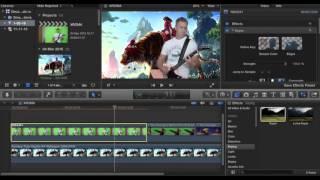 Зеленый экран хромакей в Final Cut Pro X   Как это делается