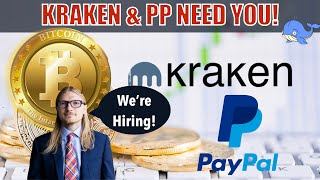 Cryptocurrency Shows MASSIVE Strength - Kraken & Paypal HIRING! Binance MAJOR Acquisition! Sell Off?