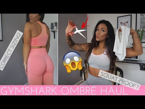 c46a574f4b4ff OMBRÉ SEAMLESS COLLECTION GUIDE - GYMSHARK HONEST REVIEW & TRY-ON - YouTube