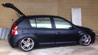 Renault Sandero - Som e acessórios