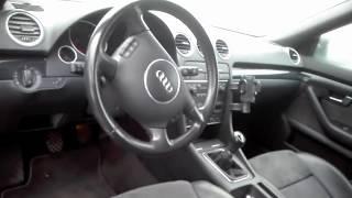 Uszkodzone Audi A4 Turbo Cabrio z Niemiec Szkoda całkowita w super stanie