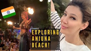 Exploring Anjuna Beach, Goa INDIA | Travel Tips and MORE!