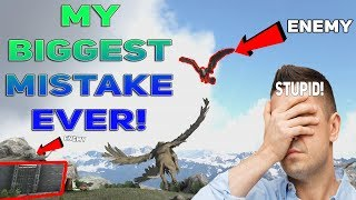 THE BIGGEST MISTAKE I'VE EVER MADE IN ARK HISTORY | ARK DUO PVP