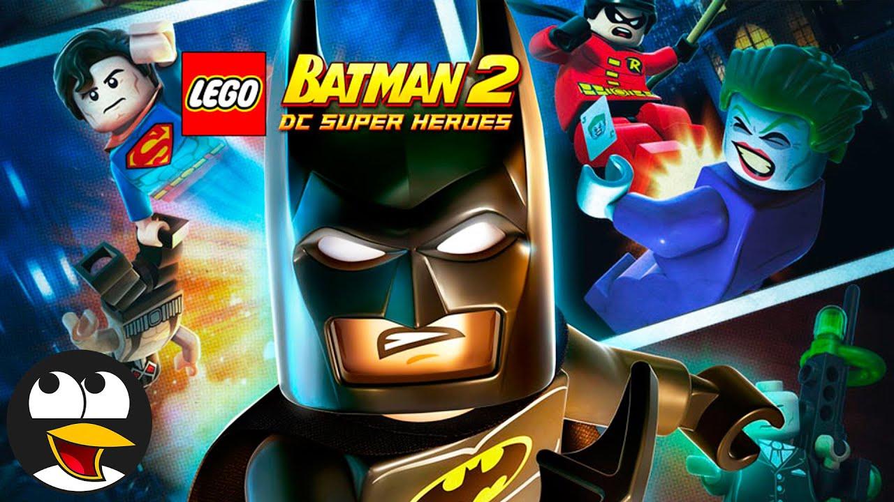레고 배트맨 2 DC 슈퍼히어로즈 영어판 시즌 1 | 저스티스 리그 DC 코믹스 만화게임하기 영상 영어로 (PC)