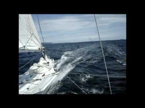 Pacific Proa JZERRO sailing at 17.8 knots (720p HD!)