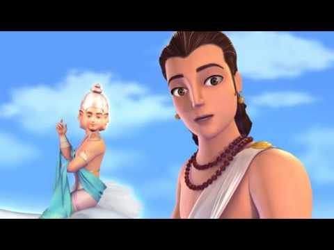 Little Krishna Hindi   Episode 4 Brahma Vimohana Lila