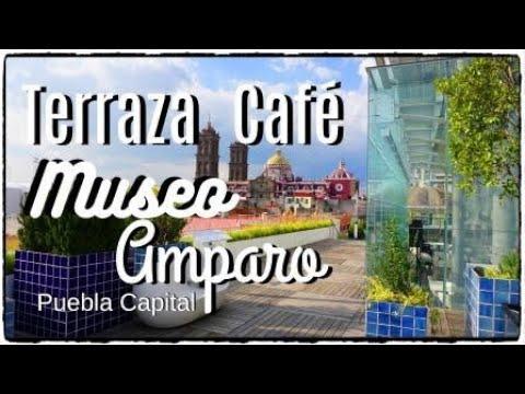 Terraza Cafe Museo Amparo Ciudad De Puebla México