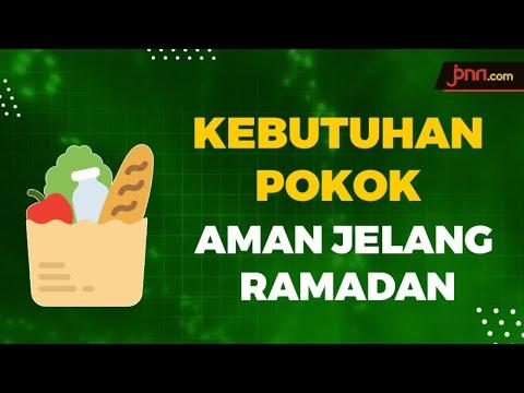 Kebutuhan Pokok Hingga Ramadan Dipastikan Aman
