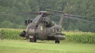 Tannkosh 2013 Helikopter CH-53 Isaf