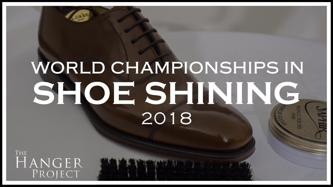 5fec3e4a8 World Championship in Shoe Shining 2018 - YouTube