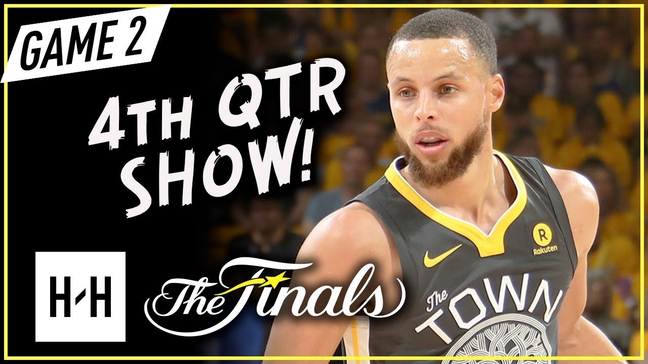 Stephen Curry Full Game 2 Highlights vs Cavaliers 2018 NBA Finals - 33 Pts, 4th Qtr Show!