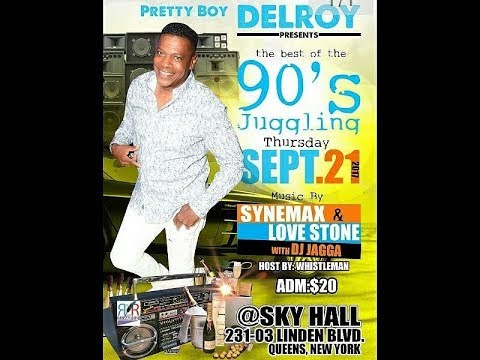 Pretty Boy Delroy 90's Juggling Party @ Sky Hall in Queens NY. Sept 21st, 2017