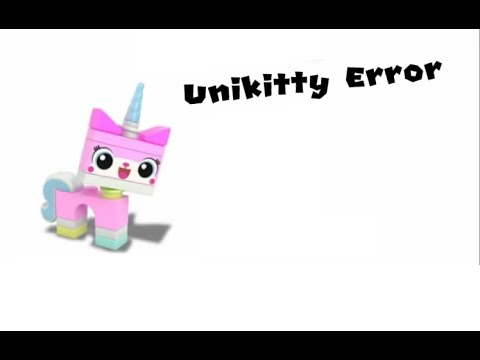 Unikitty Error 1 (Barney Error 4) - YouTube