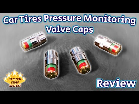 Car Tires Pressure Monitoring Valve Caps Review