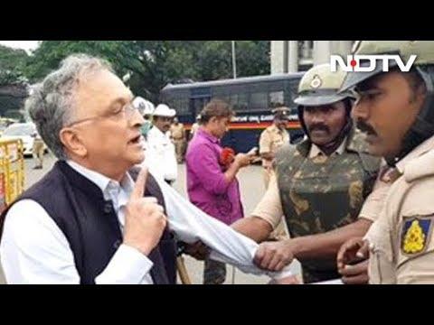 Watch: Historian Ramachandra Guha, Mid-Interview, Detained By Cops
