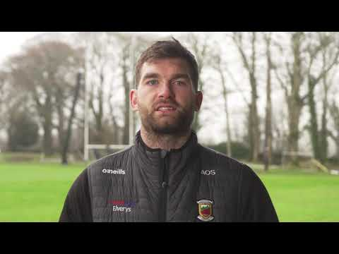 Aidan O'Shea, Mayo asks you to #HoldFirm this weekend