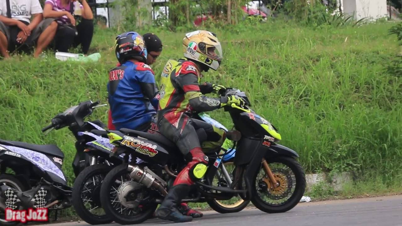 modifikasi mio road race  paling bagus