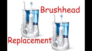 (307) How to Replace the Brushhead on a Waterpik Electric Toothbrush