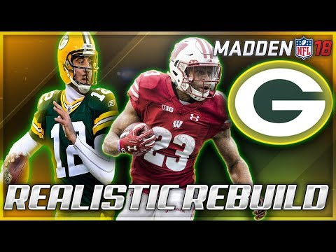 Rebuilding The Green Bay Packers | Aaron Rodgers + Jonathan Taylor | Madden 18 Franchise