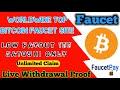 Top 3 Free Bitcoin Faucet Site 2020