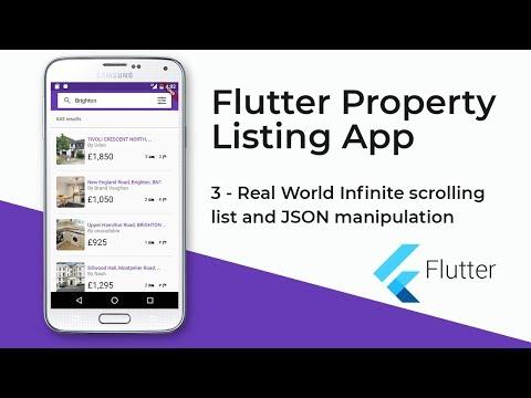 Flutter Property Listing App (3 - Real World Infinite