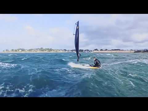 Tiwal rental - Sail, Speed & Surf on a Tiwal 3 sailboat